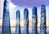 Между этажами небоскреба расположат ветряные турбины, генерирующие электричество, luxury-info.ru