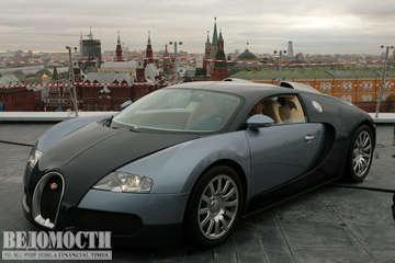 Bugatti Veyron, фото: Ведомости