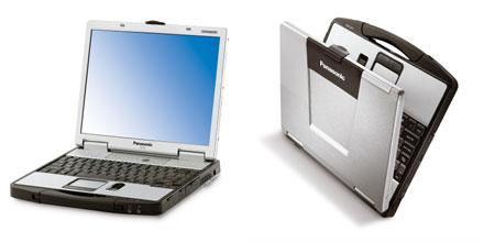 Сверхпрочный ноутбук Panasonic Intel Santa Rosa