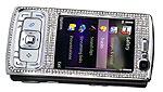 Nokia N95 в бриллиантовом оформлении