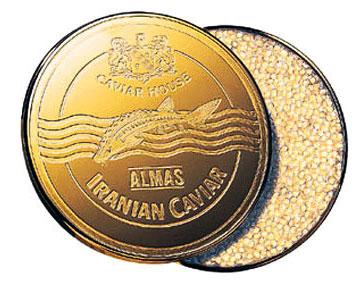 100 грамм золотой икры стоит 2000 долларов