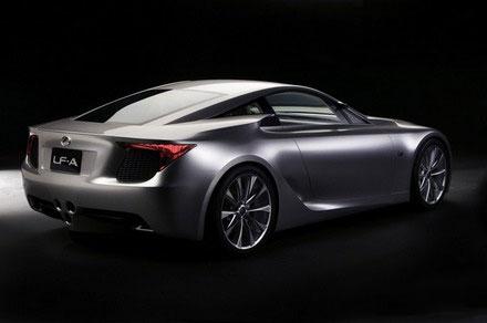 Lexus LF-A претендует на звание самого элитного автомобиля 2008