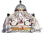 Элитная мебель и посуда нужна даже для собачек состоятельных хозяев