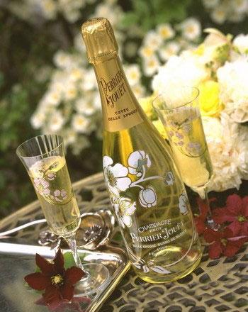 Самое дорогое шампанское в мире Perrier Jouet Belle Epoque Blanc de Blanc