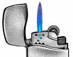 Новая зажигалка от Zippo - ее пламени не страшен даже ураган!