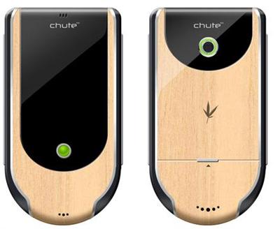 Новый мобильный телефон из бамбука