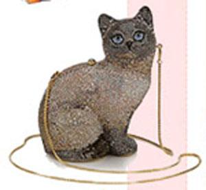 Изысканные редикюли в форме животных от Джудит Либер