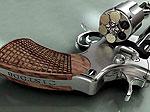 Самый маленький в мире золотой пистолет стоит $60.000