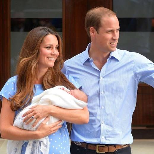 Топ-10: Ребенок принца Уильяма и Кейт Миддлтон стоит первым в списке самых влиятельных детей в мире