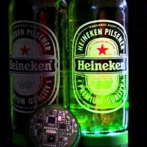 Интерактивная бутылка от Heineken
