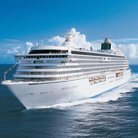 Безопасный для здоровья круиз в роскошных каютах от Crystal Cruises
