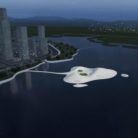 В Китае строят остров-музей за $130.000.000