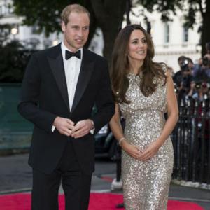 Первый светский раут герцогини Кембриджской после рождения первенца