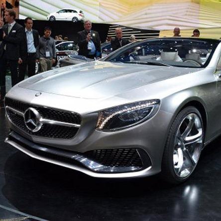 Новое роскошное купе S Class от Mercedes-Benz скоро запустят в серию
