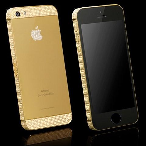 Знаменитые iPhone стали платиновыми и золотыми