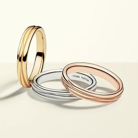 Роскошные обручальные кольца от модного дома Louis Vuitton