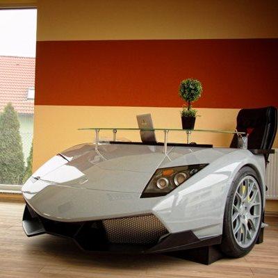 Письменный стол в виде Lamborghini Murcielago обойдется в $12.000
