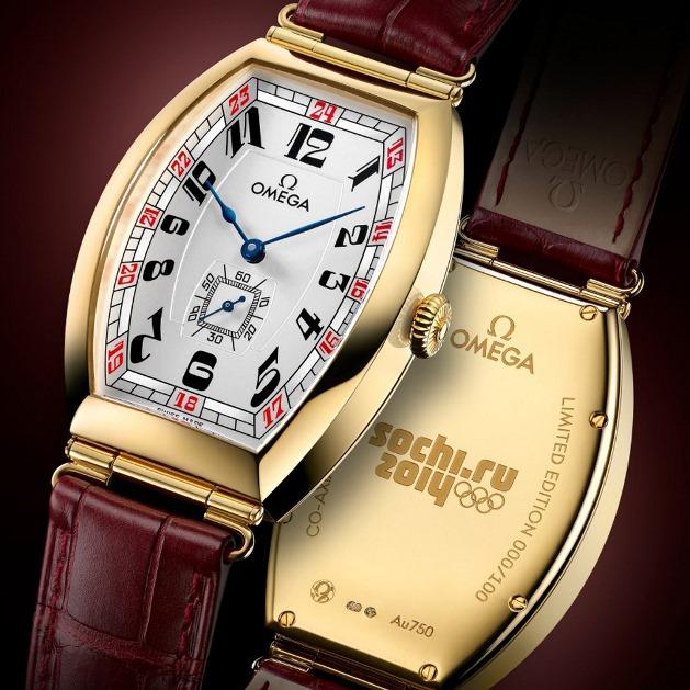 Часы к Олимпиаде – Сочи 2014 от компании Omega