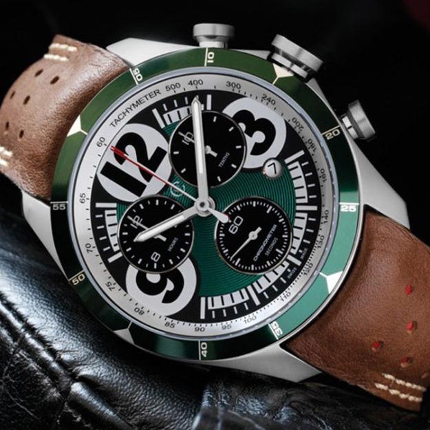 Компании Aston Martin и Christopher Ward выпустили «гоночный» хронограф