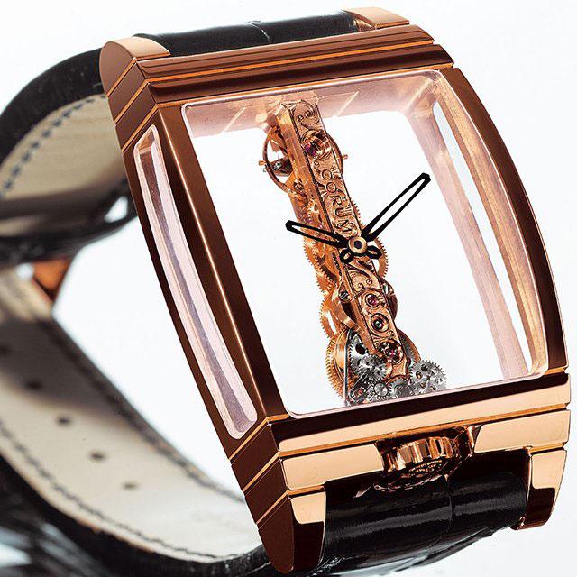 Роскошные хронометры Golden Bridge Black Ceramic от Corum