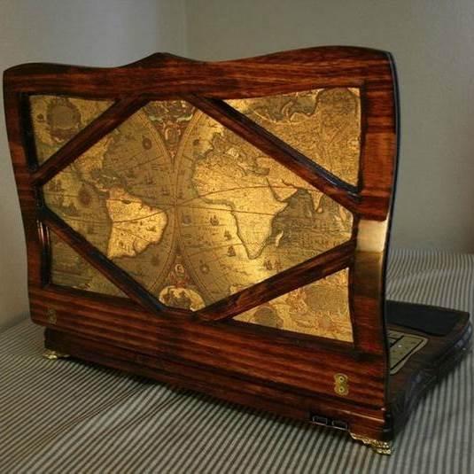 Ноутбук с «викторианским» шиком