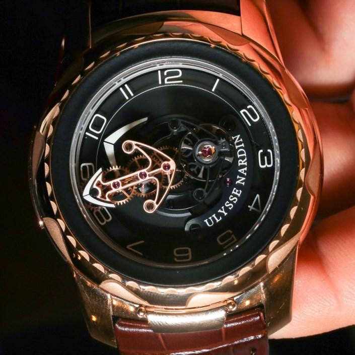 Роскошные швейцарские часы от Ulysse Nardin: вместо минутной стрелки - якорь