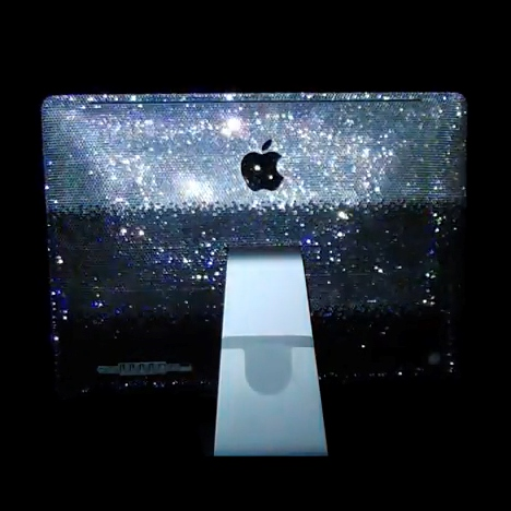 Вечерний наряд от Swarovski для Apple iMac