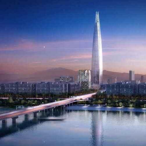 Невидимый небоскрёб Tower Infinity будет стоять в центре Сеула