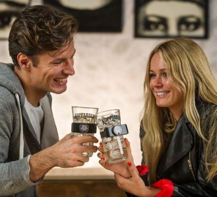 Компания Kopparberg Cider выпустила «противоугонные» стаканы