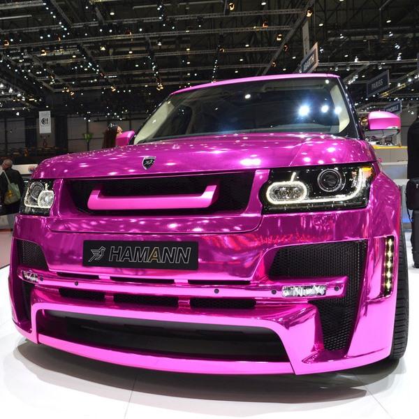 Гламурный Range Rover от тюнинг-ателье Hamann