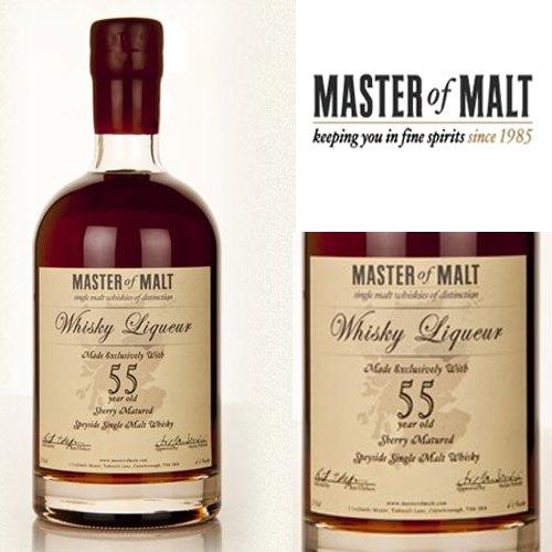 55-летний виски-ликёр Master of Malt