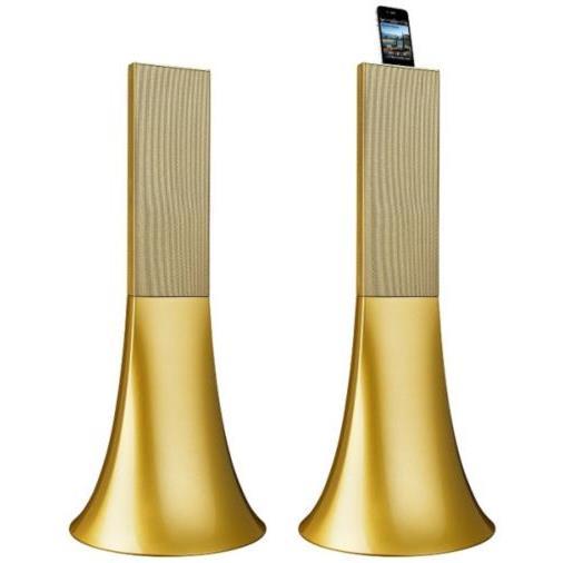 Телефонный аксессуар - золотые колонки Zikmu