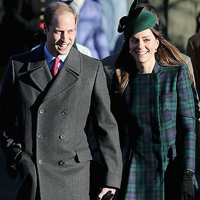 Кэтрин и Уильям встретили Рождество в гостях у Елизаветы