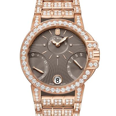 Роскошные часы Ocean Biretrograde от бренда Harry Winston