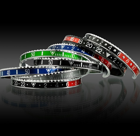 Механизм часов Rolex повторили в стильных браслетах