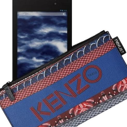 Стильный кейс для планшета Nexus 7 от бренда Kenzo
