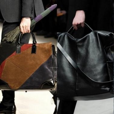 Трендовые фасоны мужских сумок для зимы 2014