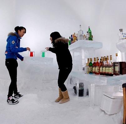 Топ-5: Романтичный мир ледяных отелей