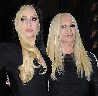 Леди Гага стала лицом рекламной акции от Versace