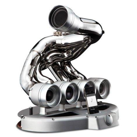 Выхлопная труба Ferrari стала док-станцией и акустикой для iPhone