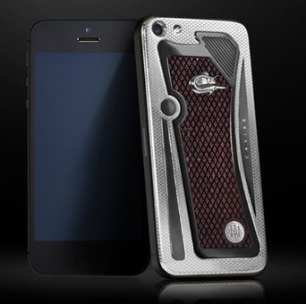 Телефон-пистолет – iPhone-Beretta от бренда СAVIAR