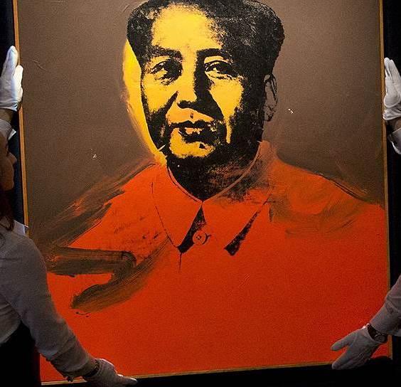 Портрет «великого Мао» кисти Энди Уорхолла продали за $12.200.000