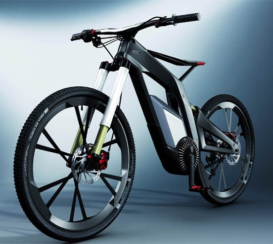 Эксклюзивный карбоновый велосипед от Finnpower для прогулок по горам