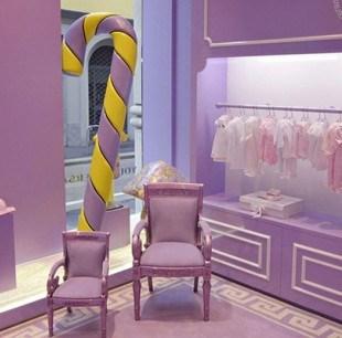 Первый детский модный бутик Young Versace