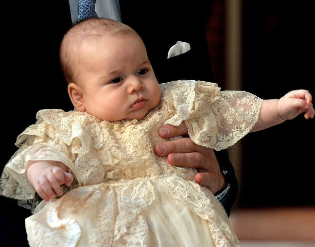 Принцу Георгу наняли новую няню–испанку