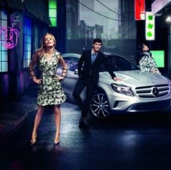 Джорджия Мэй Джаггер стала лицом рекламы Mercedes-Benz GLA