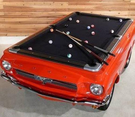 Chevrolet Corvette, выпущенный в 1959 году, стал бильярдным столом за $25.000