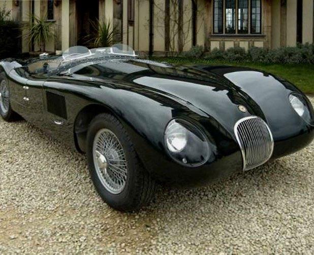 Раритетный Jaguar C-type уйдёт с молотка