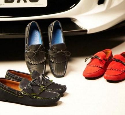 Для водителей роскошных авто изготовили «карбоновые» туфли