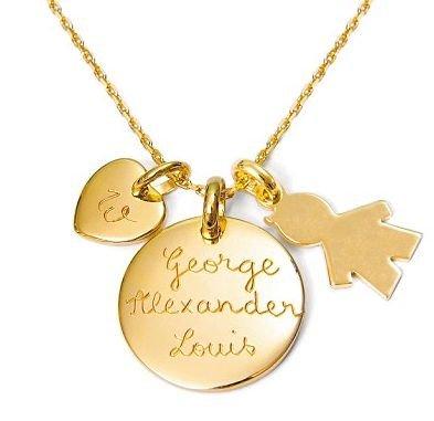 Кейт Миддлтон получила от сестры Пиппы памятный подарок: украшение с именами мужа и сына
